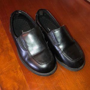 Black dress shoes toddler boy size 10
